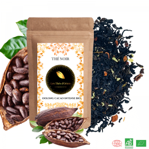 the noir bio cacao intense, the noir chocolate, the assam bio, the assam de qualite bio