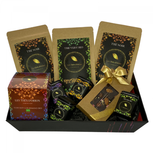 coffret thé nature Pure origine